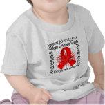 AIDS HIV Inspirations Spiral Ribbon T Shirt