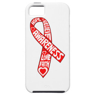 AIDS HIV Slogans Ribbon iPhone 5 Cover
