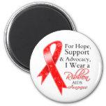 AIDS HIV Support Hope Awareness Fridge Magnet