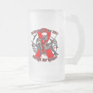 AIDS HIV Survivor By Day Ninja By Night Mug