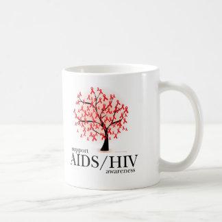 AIDS/HIV Tree Coffee Mug