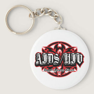 AIDS/HIV Tribal Keychain