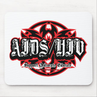 AIDS/HIV Tribal Mouse Pad