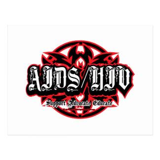AIDS/HIV Tribal Postcard