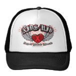 AIDS/HIV Wings Hat