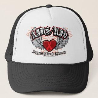 AIDS/HIV Wings Trucker Hat