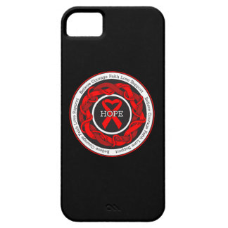 AIDS Hope Intertwined Ribbon iPhone 5 Case