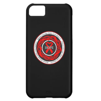 AIDS Hope Intertwined Ribbon iPhone 5C Covers