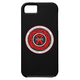 AIDS Hope Intertwined Ribbon iPhone 5 Covers