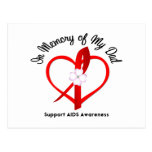 AIDS In Memory of My Dad Postcards