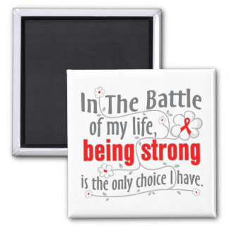 AIDS In The Battle Refrigerator Magnet
