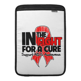 AIDS In The Fight For a Cure Sleeves For MacBook Air
