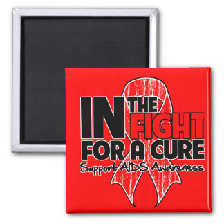 AIDS In The Fight For a Cure Magnets