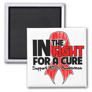 AIDS In The Fight For a Cure Fridge Magnet