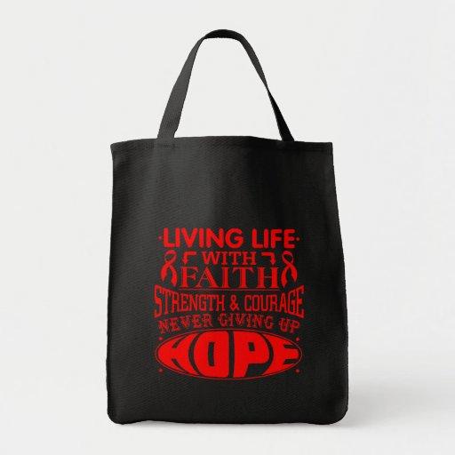 AIDS Living Life with Faith Bag