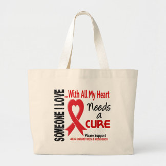AIDS Needs A Cure 3 Canvas Bags