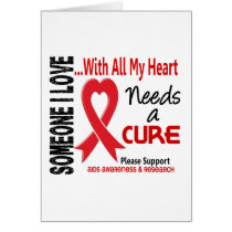 AIDS Needs A Cure 3 Card