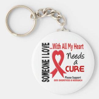 AIDS Needs A Cure 3 Keychain