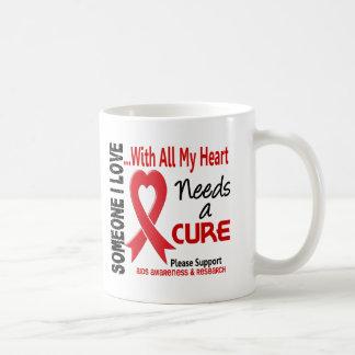 AIDS Needs A Cure 3 Mugs