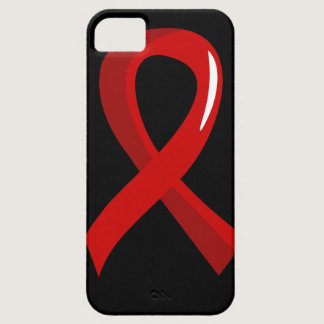 AIDS Red Ribbon 3 iPhone SE/5/5s Case