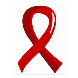 AIDS Red Ribbon 3 Postcard