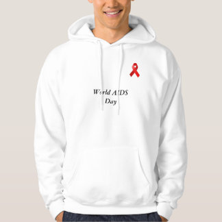aids-ribbon-7, World AIDS Day Hoodie