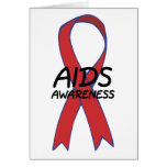 Aids Ribbon Cards