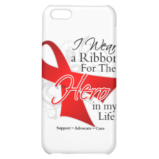 AIDS Ribbon Hero in My Life iPhone 5C Cover