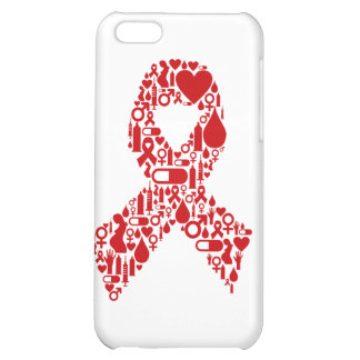 Aids Ribbon Icon Awareness iPhone 5C Cover