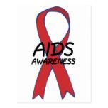 Aids Ribbon Post Card