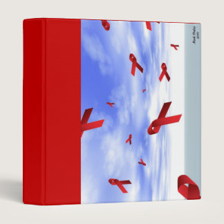 AIDS Ribbons Binder