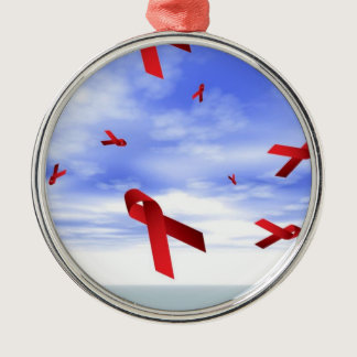 AIDS Ribbons Ornament