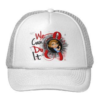 AIDS Rosie Cartoon WCDI Trucker Hat
