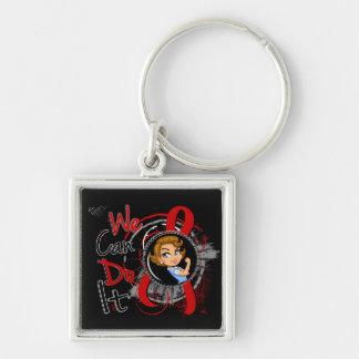 AIDS Rosie Cartoon WCDI Keychains