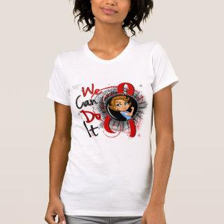 AIDS Rosie Cartoon WCDI T Shirts