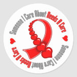 AIDS Someone I Care About Needs A Cure Sticker
