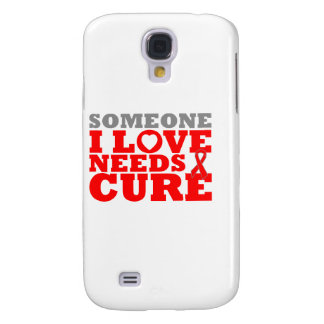 AIDS Someone I Love Needs A Cure Galaxy S4 Cover