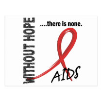 AIDS Without Hope 1 Postcard