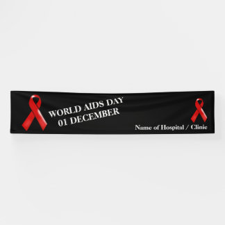 Aids world campaign day| Personalize Banner