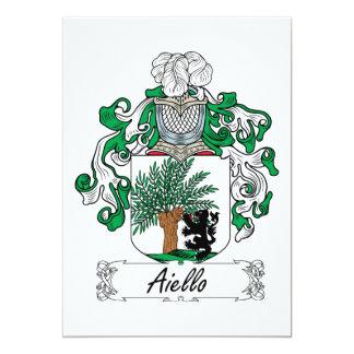 Aiello Family Crest Card