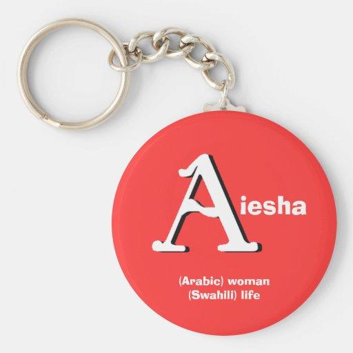 Aiesha Keychain