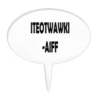 AIFF DE ITEOTWAWKI FIGURAS DE TARTA