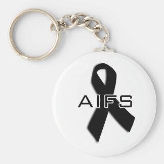 AIFS keychain! Basic Round Button Keychain
