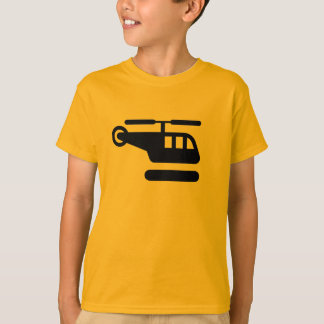 AIGA Helicopter/Heliport Sign Shirt