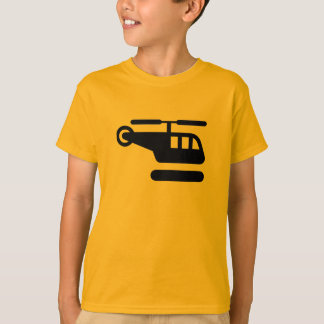 AIGA Helicopter/Heliport Sign T-Shirt