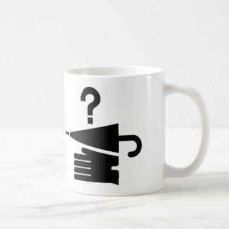 AIGA Lost and Found Sign Classic White Coffee Mug