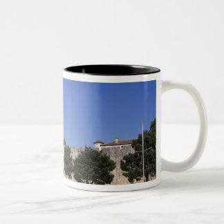 Aigues Mortes, Rhone and Sete Canal, Gard, Two-Tone Coffee Mug