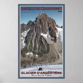 Aiguille du Chardonnet Poster