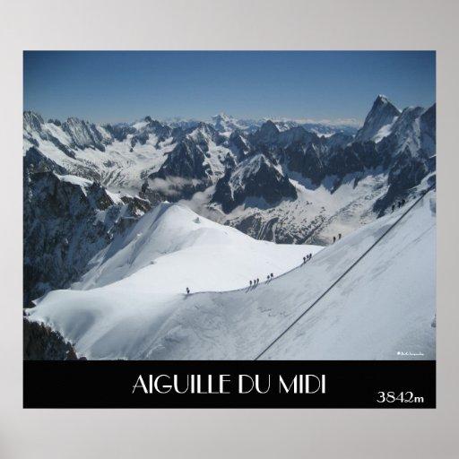 AIGUILLE DU MIDI, 3842m Print