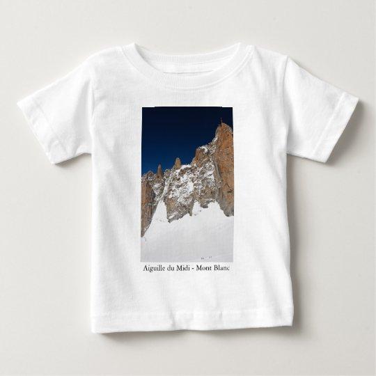 Aiguille du Midi - Mont Blanc Baby T-Shirt